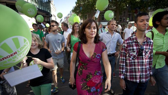 Jolande Sap en Tofik Dibi te Utrecht