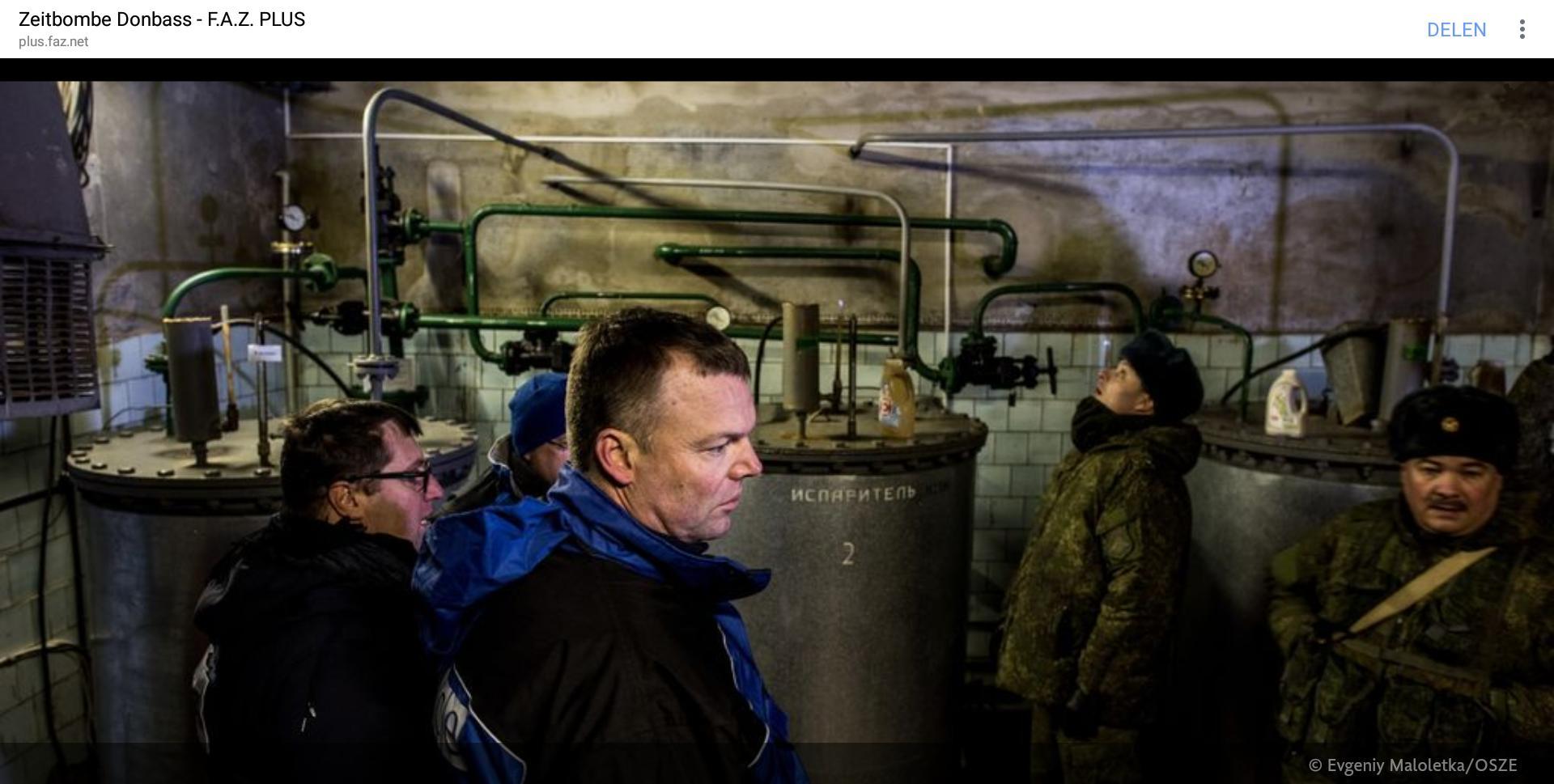 2017-11-11 Frankfurter Algemeine ++ Zeitbombe Donbass