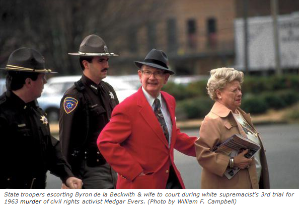 1994 Beckwith and wife to court ++ photo with subscript
